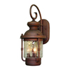Volume International Sterling 22.25-in H Burnished Bronze Outdoor Wall Light