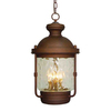 Volume International Sterling 22-1/4-in Burnished Bronze Outdoor Pendant Light
