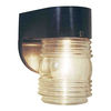 Volume International Jelly Jar 6-in Black Outdoor Wall Light