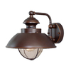 Cascadia Lighting Nautical 10.25-in H Burnished Bronze Outdoor Wall Light