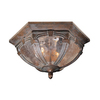 Cascadia Lighting Essex 13-in Bronze Outdoor Flush-Mount Light