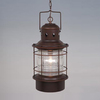 Cascadia Lighting Nautical 22-in Burnished Bronze Outdoor Pendant Light