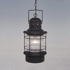 Cascadia Lighting Nautical 22-in Textured Black Outdoor Pendant Light