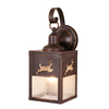 Cascadia Lighting Yellowstone Bryce 13-in H Burnished Bronze Outdoor Wall Light