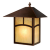 Cascadia Lighting Mission 13-in H Burnished Bronze Outdoor Wall Light