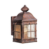 Cascadia Lighting Revere 9-1/4-in Royal Bronze Outdoor Wall Light