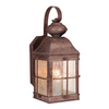 Cascadia Lighting Revere 14-1/2-in Royal Bronze Outdoor Wall Light