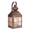 Cascadia Lighting Revere 18-1/2-in Royal Bronze Outdoor Wall Light