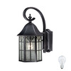 Cascadia Lighting Tudor 14-in Oil-Rubbed Bronze Outdoor Wall Light