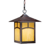 Cascadia Lighting Taliesin 12-7/8-in Espresso Bronze Outdoor Pendant Light