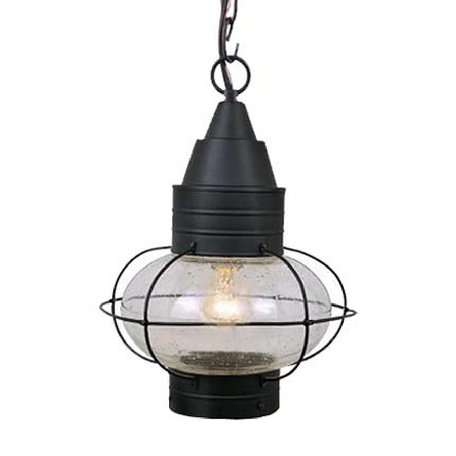 lighting onion 17 5 in h black outdoor pendant light at. Black Bedroom Furniture Sets. Home Design Ideas