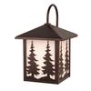 Cascadia Lighting Yosemite 12.5-in H Burnished Bronze Outdoor Wall Light