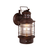 Cascadia Lighting Nautical 12-in H Burnished Bronze Outdoor Wall Light