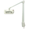 Dazor Manufacturing Adjustable Dove Gray Desk Lamp