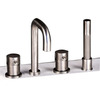 Moda Collection Stiriana Gloss 2-Handle Adjustable Deck Mount Tub Faucet