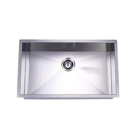 Shop Elements Of Design Gourmetier 19 In X 32 In Brushed Nickel Single Basin Stainless Steel