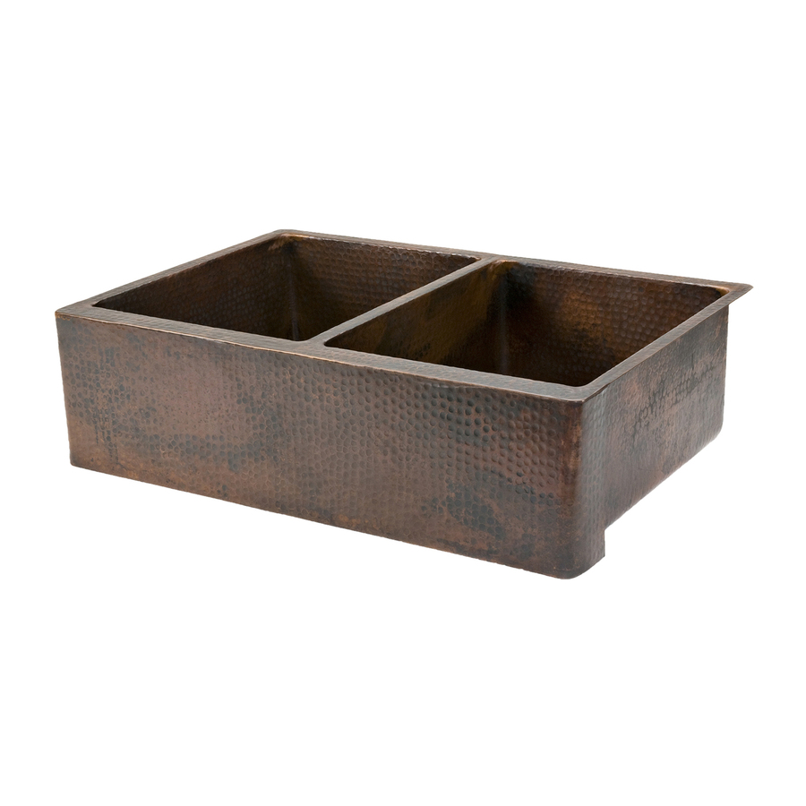 Lowes Farmhouse Sink : ... Sink Copper Apron Front/Farmhouse Residential Kitchen Sink at Lowes