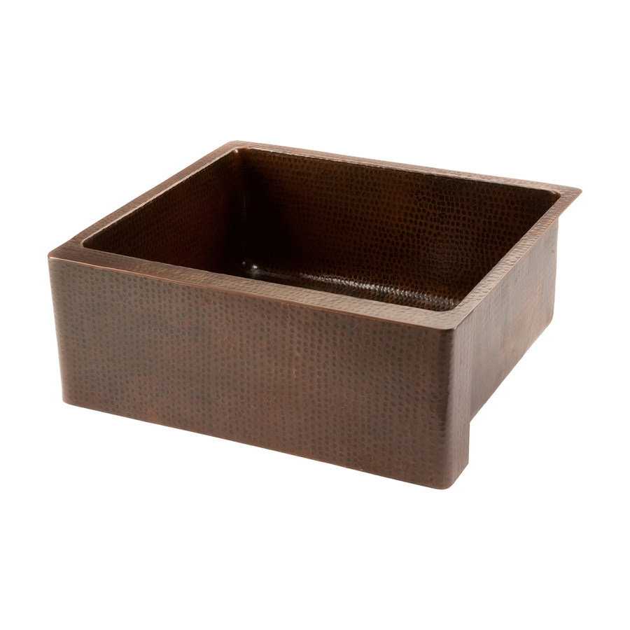 Copper Farmhouse Sink Clearance : ... Sink Copper Apron Front/Farmhouse Residential Kitchen Sink at Lowes