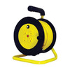 K Tool International 40-ft 4-Outlet 16-Gauge Yellow Outdoor Extension Cord with Built-In Circuit Breaker