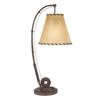 Shadow Mountain 26-in River Bed Table Lamp with Shade