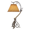 Shadow Mountain 29-in Table Lamp with Shade