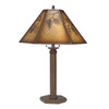 Shadow Mountain 29-in Table Lamp with Mica Shade