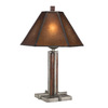 Shadow Mountain 30-in Mahogany Table Lamp with Shade