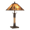 Shadow Mountain 31-in Pinebrook Table Lamp with Shade