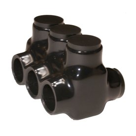 Morris Products 600-Volt Black 3-Wire Connector