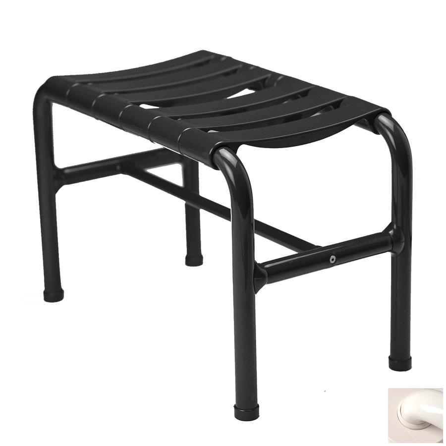 Ponte Giulio USA Glossy Biscuit Plastic Freestanding Shower Seat