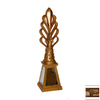 Hickory Manor House Antique Gold Lamp Finial
