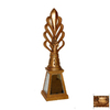 Hickory Manor House Baroque Lamp Finial
