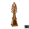Hickory Manor House Black Lamp Finial