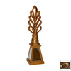 Hickory Manor House Etienne Gold Lamp Finial