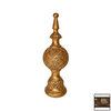 Hickory Manor House Tarnished Gold Lamp Finial