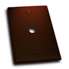 Residential Essentials 1-Gang Venetian Bronze Coax Steel Wall Plate