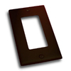 Residential Essentials 1-Gang Venetian Bronze Decorator Rocker Steel Wall Plate