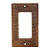 Premier Copper Products 1-Gang Oil-Rubbed Bronze GFCI Metal Wall Plate