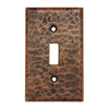 Premier Copper Products 1-Gang Oil-Rubbed Bronze Standard Toggle Metal Wall Plate