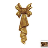 Hickory Manor House 1-ft 2-1/2-in Painted Composite Festoon Tassel Applique Accent