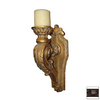 Hickory Manor House 9-3/4-in Painted Composite Candle Holder Accent