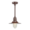 Millennium Lighting R Series 11-1/4-in Architectural Bronze Outdoor Pendant Light