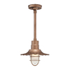 Millennium Lighting R Series 11-1/4-in Copper Outdoor Pendant Light