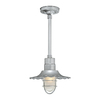 Millennium Lighting R Series 11-1/4-in Galvanized Outdoor Pendant Light