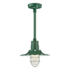Millennium Lighting R Series 11-1/4-in Satin Green Outdoor Pendant Light
