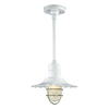Millennium Lighting R Series 11-1/4-in White Outdoor Pendant Light