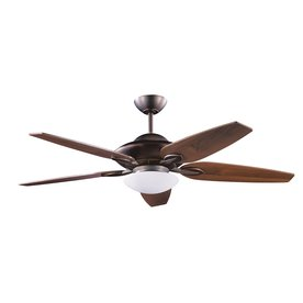 Kendal Lighting Treville 52-in Architectural Bronze Downrod Mount Indoor Ceiling Fan with Light Kit and Remote