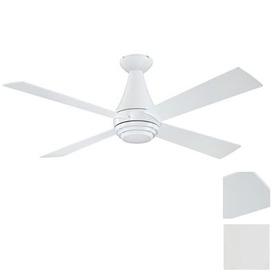shop kendal lighting novo 50 in white flush mount ceiling