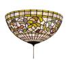 Meyda Tiffany Turning Leaf 3-Light Mahogany Bronze Incandescent Ceiling Fan Light Kit