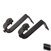 Rod Desyne 2-Pack 9/16-in Black Wall Brackets